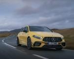 2020 Mercedes-AMG A 45 S (UK-Spec) Front Three-Quarter Wallpapers 150x120 (4)
