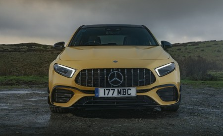 2020 Mercedes-AMG A 45 S (UK-Spec) Front Wallpapers 450x275 (47)
