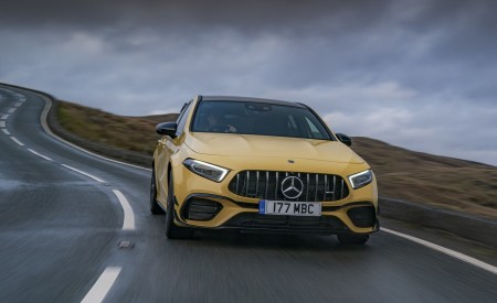 2020 Mercedes-AMG A 45 S (UK-Spec) Front Wallpapers 450x275 (15)