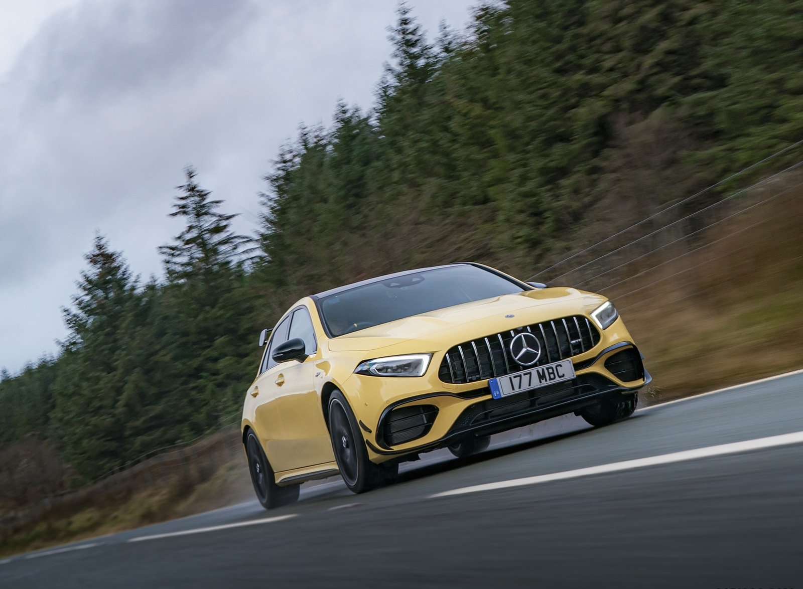2020 Mercedes-AMG A 45 S (UK-Spec) Front Wallpapers (5)