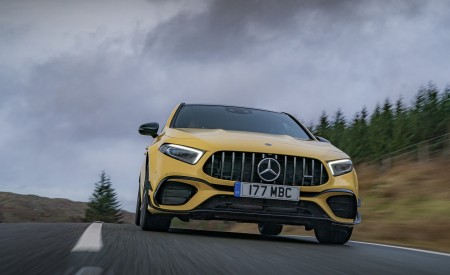 2020 Mercedes-AMG A 45 S (UK-Spec) Front Wallpapers 450x275 (16)