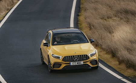 2020 Mercedes-AMG A 45 S (UK-Spec) Front Wallpapers 450x275 (35)