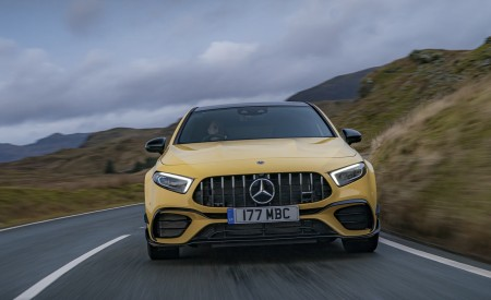 2020 Mercedes-AMG A 45 S (UK-Spec) Front Wallpapers 450x275 (17)