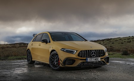 2020 Mercedes-AMG A 45 S (UK-Spec) Front Wallpapers 450x275 (48)