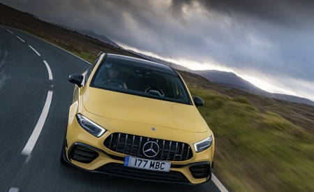 2020 Mercedes-AMG A 45 S (UK-Spec) Front Wallpapers 450x275 (18)