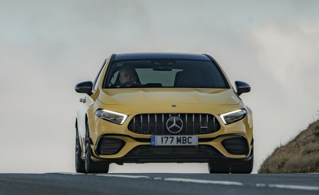 2020 Mercedes-AMG A 45 S (UK-Spec) Front Wallpapers 450x275 (6)