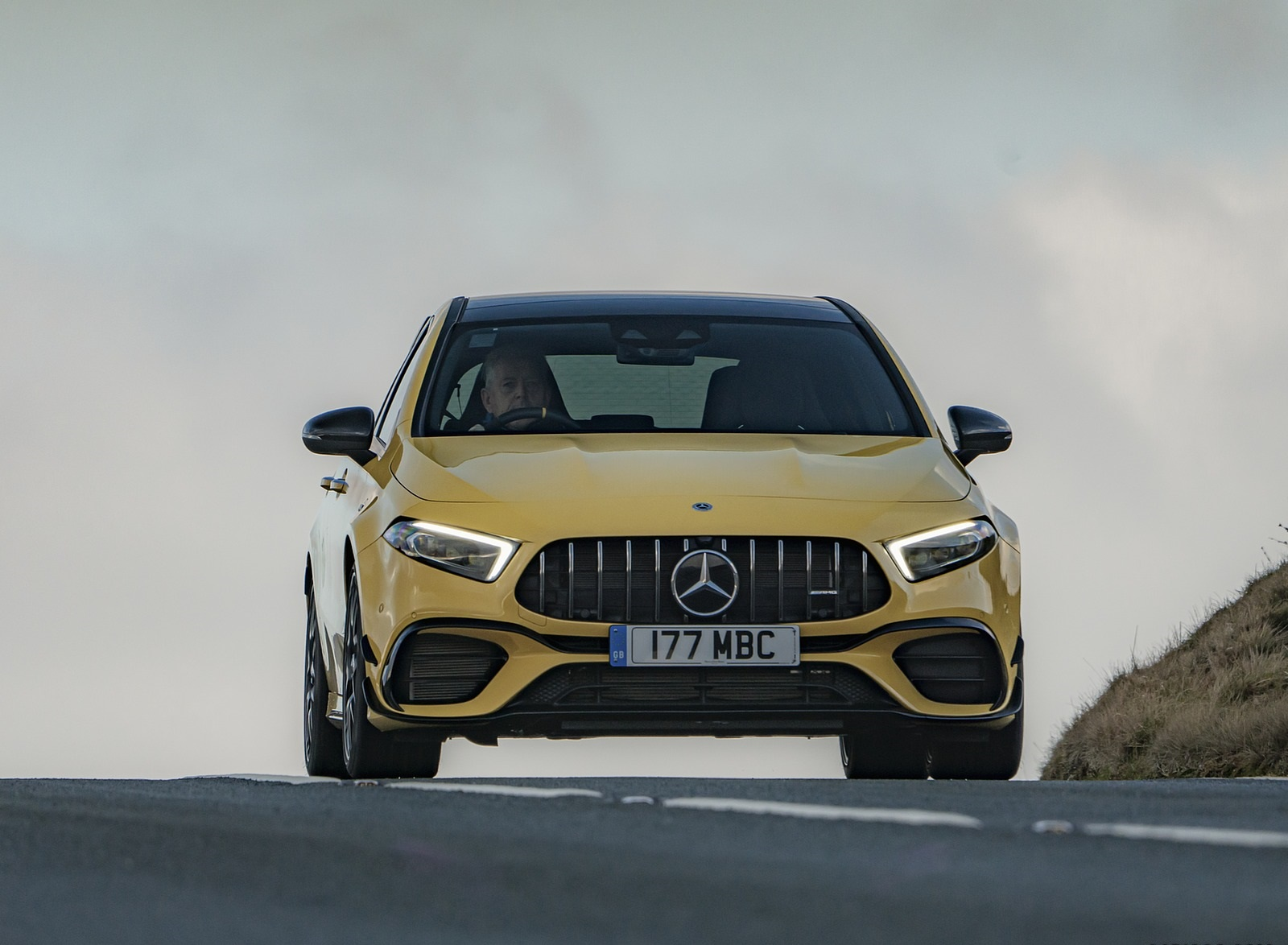2020 Mercedes-AMG A 45 S (UK-Spec) Front Wallpapers (6)
