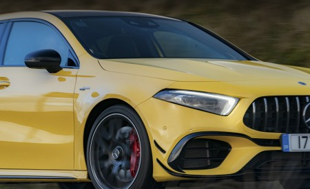 2020 Mercedes-AMG A 45 S (UK-Spec) Headlight Wallpapers 450x275 (56)