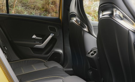 2020 Mercedes-AMG A 45 S (UK-Spec) Interior Rear Seats Wallpapers 450x275 (63)