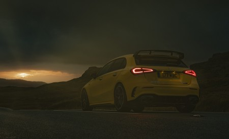 2020 Mercedes-AMG A 45 S (UK-Spec) Rear Three-Quarter Wallpapers 450x275 (49)
