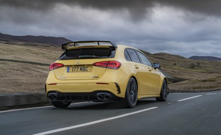 2020 Mercedes-AMG A 45 S (UK-Spec) Rear Three-Quarter Wallpapers 450x275 (37)