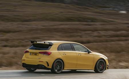 2020 Mercedes-AMG A 45 S (UK-Spec) Rear Three-Quarter Wallpapers 450x275 (24)