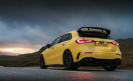 2020 Mercedes-AMG A 45 S (UK-Spec) Rear Three-Quarter Wallpapers 450x275 (45)