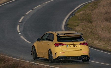 2020 Mercedes-AMG A 45 S (UK-Spec) Rear Three-Quarter Wallpapers 450x275 (25)
