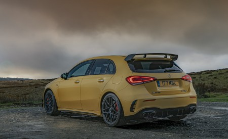 2020 Mercedes-AMG A 45 S (UK-Spec) Rear Three-Quarter Wallpapers 450x275 (50)