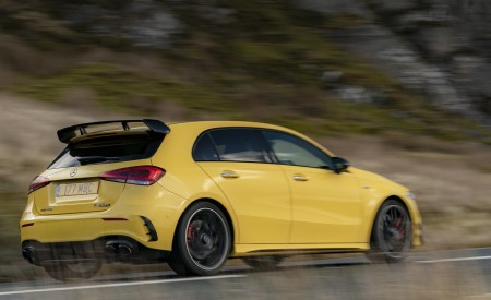 2020 Mercedes-AMG A 45 S (UK-Spec) Rear Three-Quarter Wallpapers 450x275 (38)