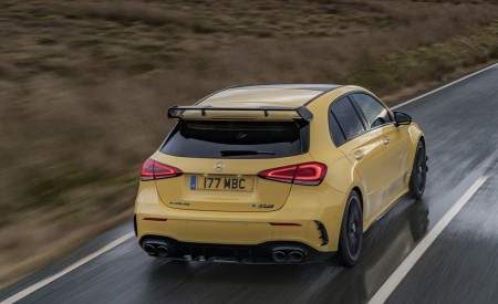 2020 Mercedes-AMG A 45 S (UK-Spec) Rear Three-Quarter Wallpapers 450x275 (26)