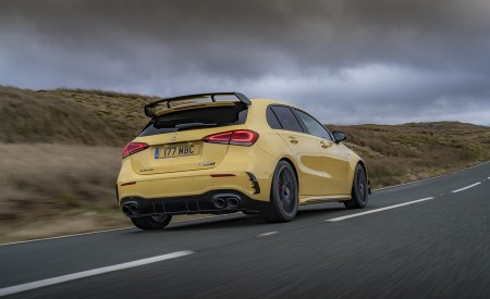 2020 Mercedes-AMG A 45 S (UK-Spec) Rear Three-Quarter Wallpapers 450x275 (19)