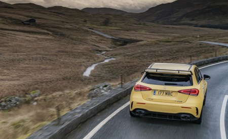 2020 Mercedes-AMG A 45 S (UK-Spec) Rear Wallpapers 450x275 (27)
