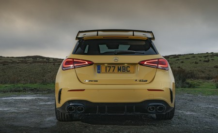 2020 Mercedes-AMG A 45 S (UK-Spec) Rear Wallpapers 450x275 (51)