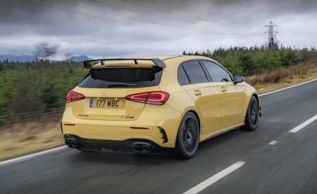 2020 Mercedes-AMG A 45 S (UK-Spec) Rear Wallpapers 450x275 (28)