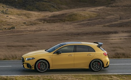 2020 Mercedes-AMG A 45 S (UK-Spec) Side Wallpapers 450x275 (30)