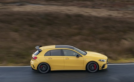 2020 Mercedes-AMG A 45 S (UK-Spec) Side Wallpapers 450x275 (40)
