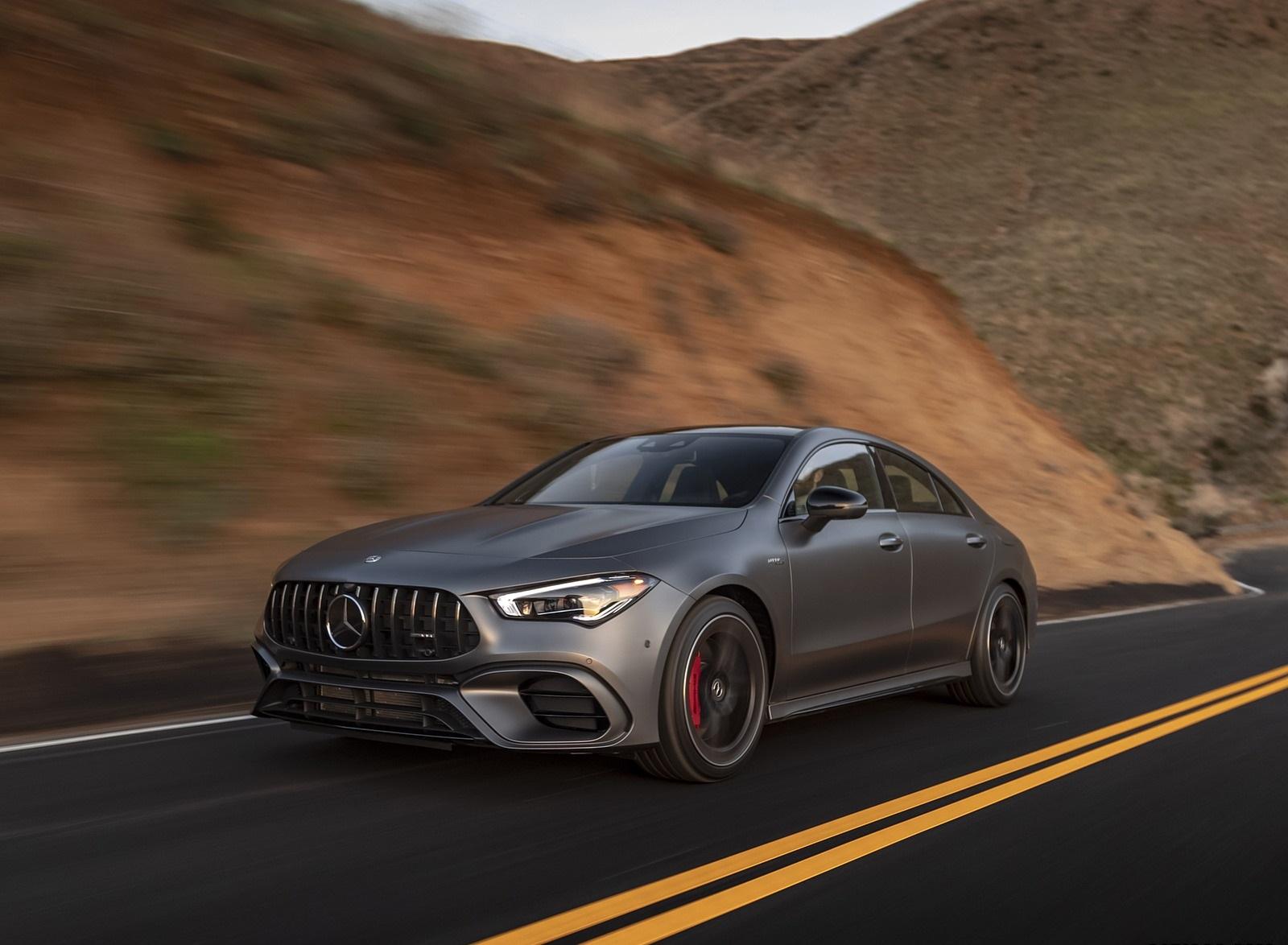 2020 Mercedes-AMG CLA 45 (US-Spec) Front Three-Quarter Wallpapers (1)