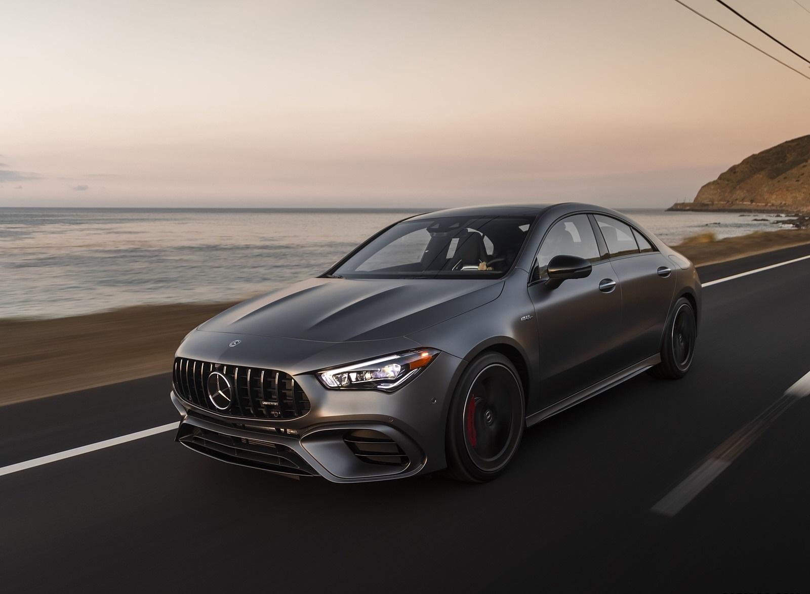 2020 Mercedes-AMG CLA 45 (US-Spec) Front Three-Quarter Wallpapers (7)