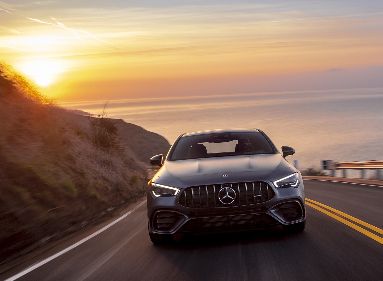 2020 Mercedes-AMG CLA 45 (US-Spec) Front Wallpapers (9)
