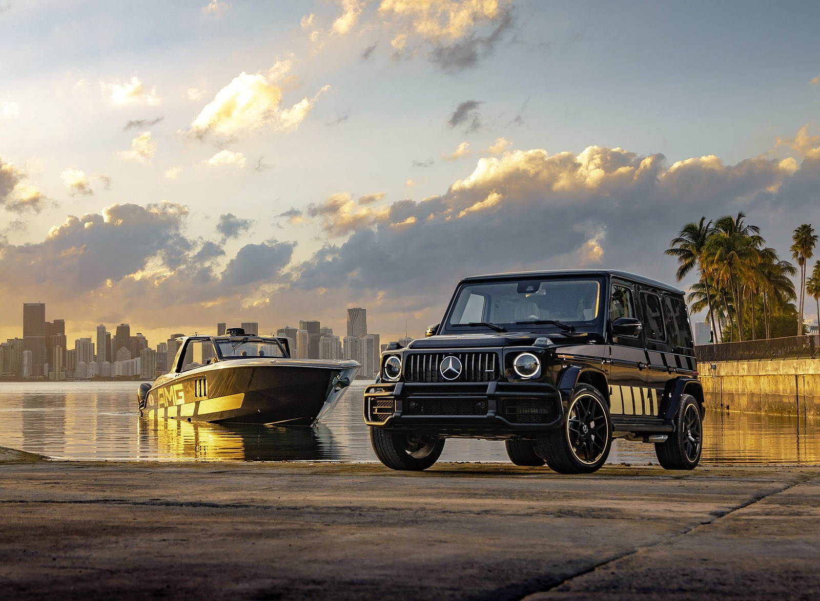 2020 Mercedes-AMG G 63 Cigarette Edition Front Three-Quarter Wallpapers (4)
