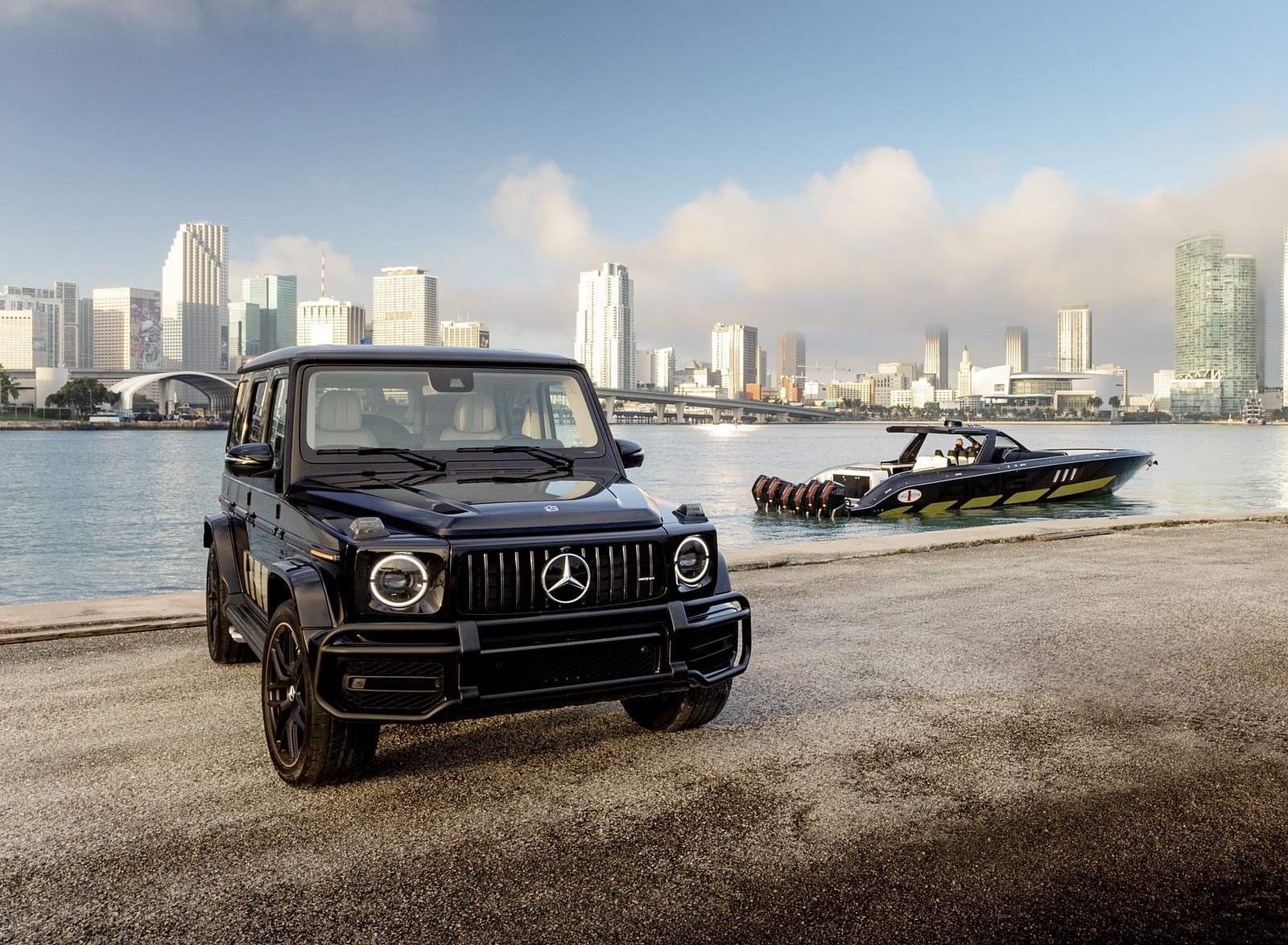 2020 Mercedes-AMG G 63 Cigarette Edition Front Three-Quarter Wallpapers (5)