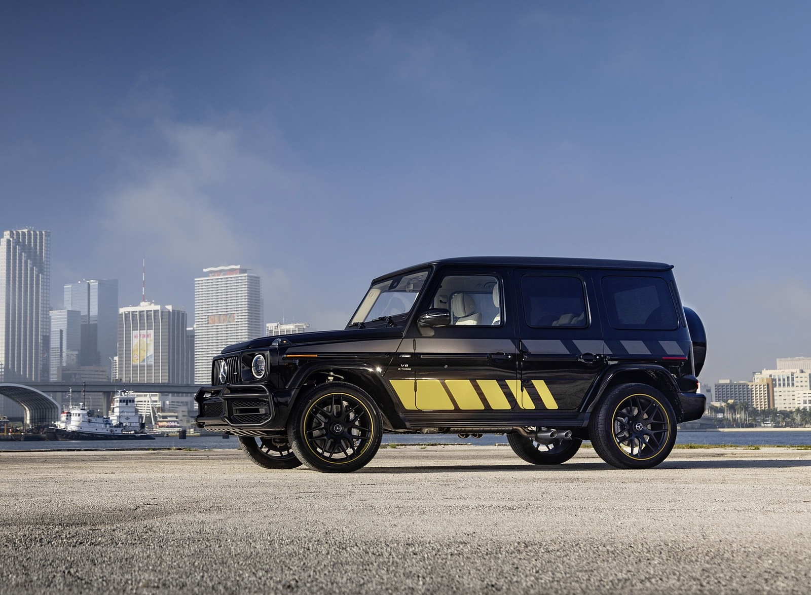 2020 Mercedes-AMG G 63 Cigarette Edition Front Three-Quarter Wallpapers (6)