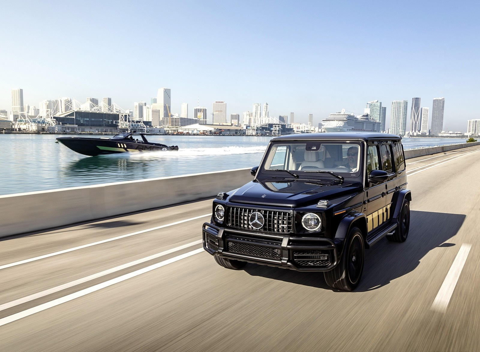 2020 Mercedes-AMG G 63 Cigarette Edition Front Three-Quarter Wallpapers (1)