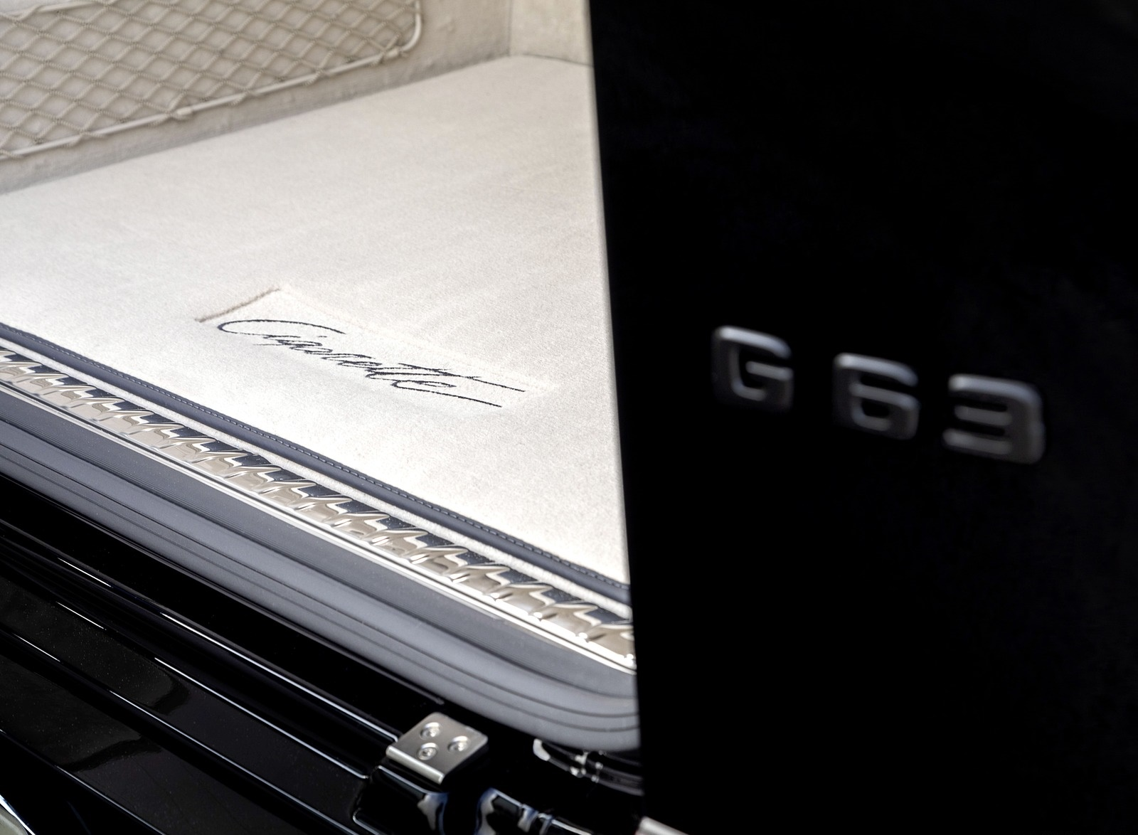 2020 Mercedes-AMG G 63 Cigarette Edition Trunk Wallpapers (9)