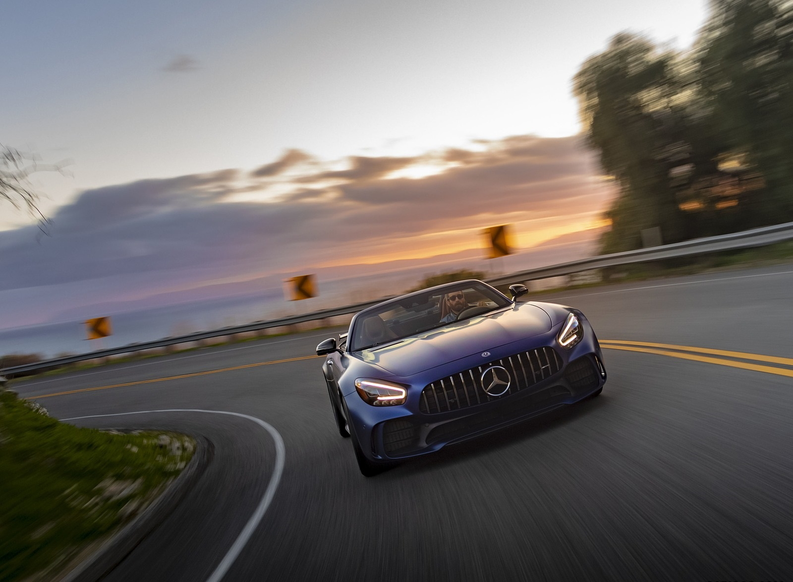 2020 Mercedes-AMG GT R Roadster (US-Spec) Front Wallpapers (7)