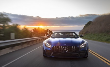 2020 Mercedes-AMG GT R Roadster (US-Spec) Front Wallpapers 450x275 (15)