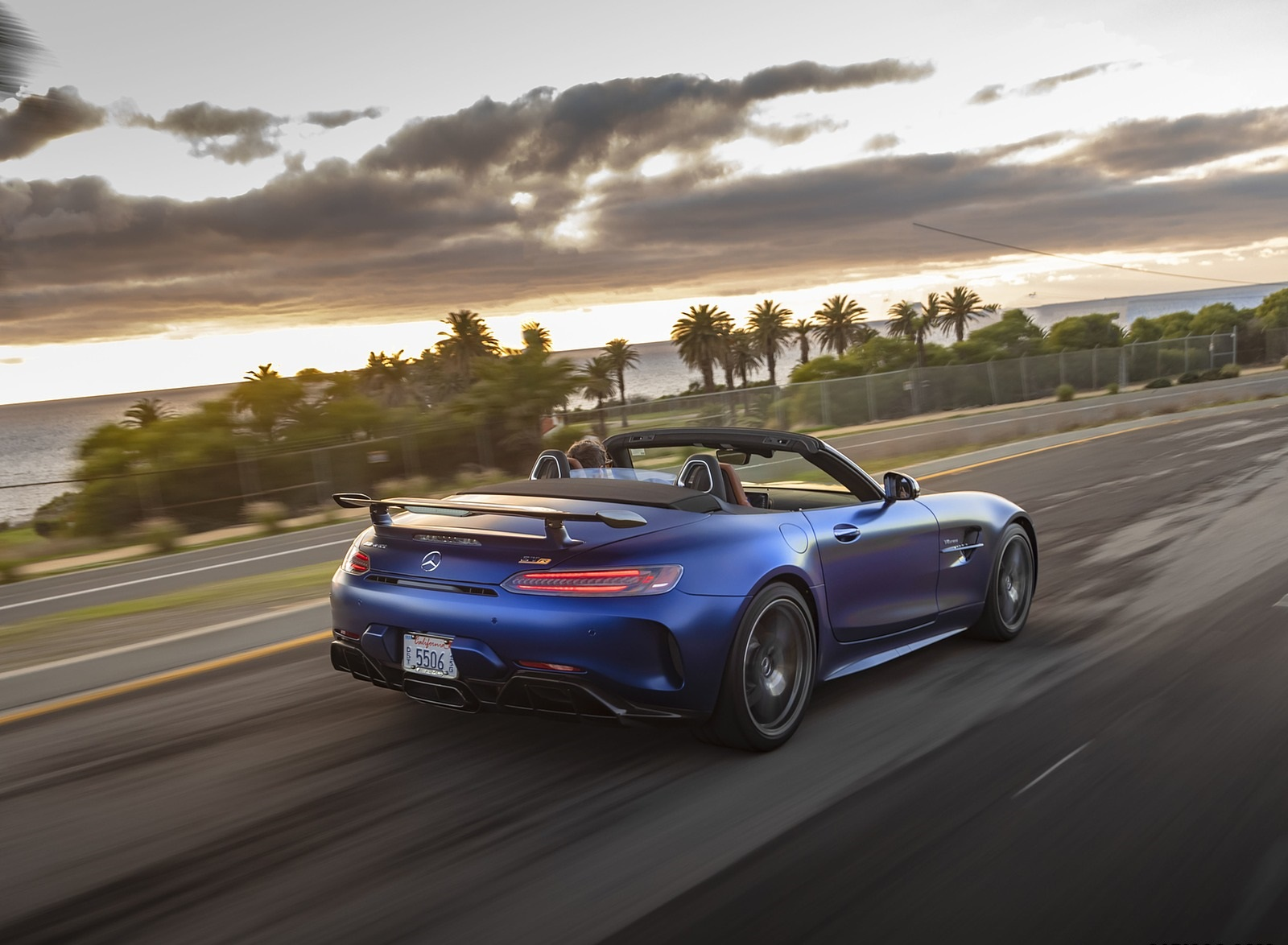 2020 Mercedes-AMG GT R Roadster (US-Spec) Rear Three-Quarter Wallpapers (8)