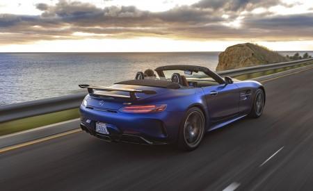 2020 Mercedes-AMG GT R Roadster (US-Spec) Rear Three-Quarter Wallpapers 450x275 (9)