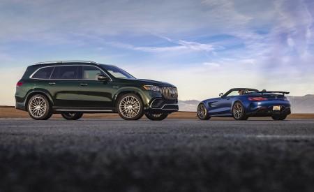 2020 Mercedes-AMG GT R Roadster (US-Spec) Rear Three-Quarter Wallpapers 450x275 (29)