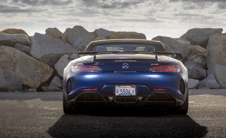 2020 Mercedes-AMG GT R Roadster (US-Spec) Rear Wallpapers 450x275 (43)