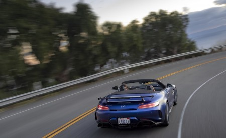 2020 Mercedes-AMG GT R Roadster (US-Spec) Rear Wallpapers 450x275 (25)