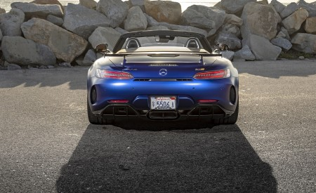 2020 Mercedes-AMG GT R Roadster (US-Spec) Rear Wallpapers 450x275 (44)