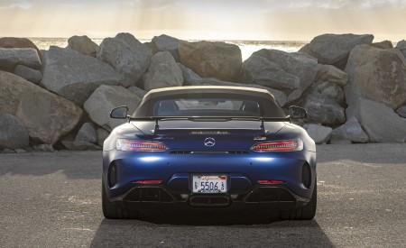 2020 Mercedes-AMG GT R Roadster (US-Spec) Rear Wallpapers 450x275 (45)