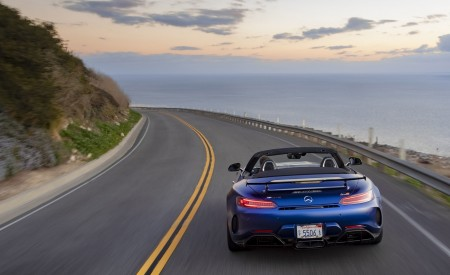 2020 Mercedes-AMG GT R Roadster (US-Spec) Rear Wallpapers 450x275 (28)