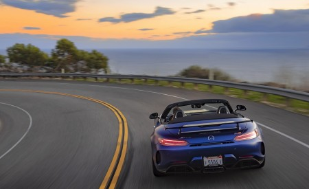 2020 Mercedes-AMG GT R Roadster (US-Spec) Rear Wallpapers 450x275 (22)