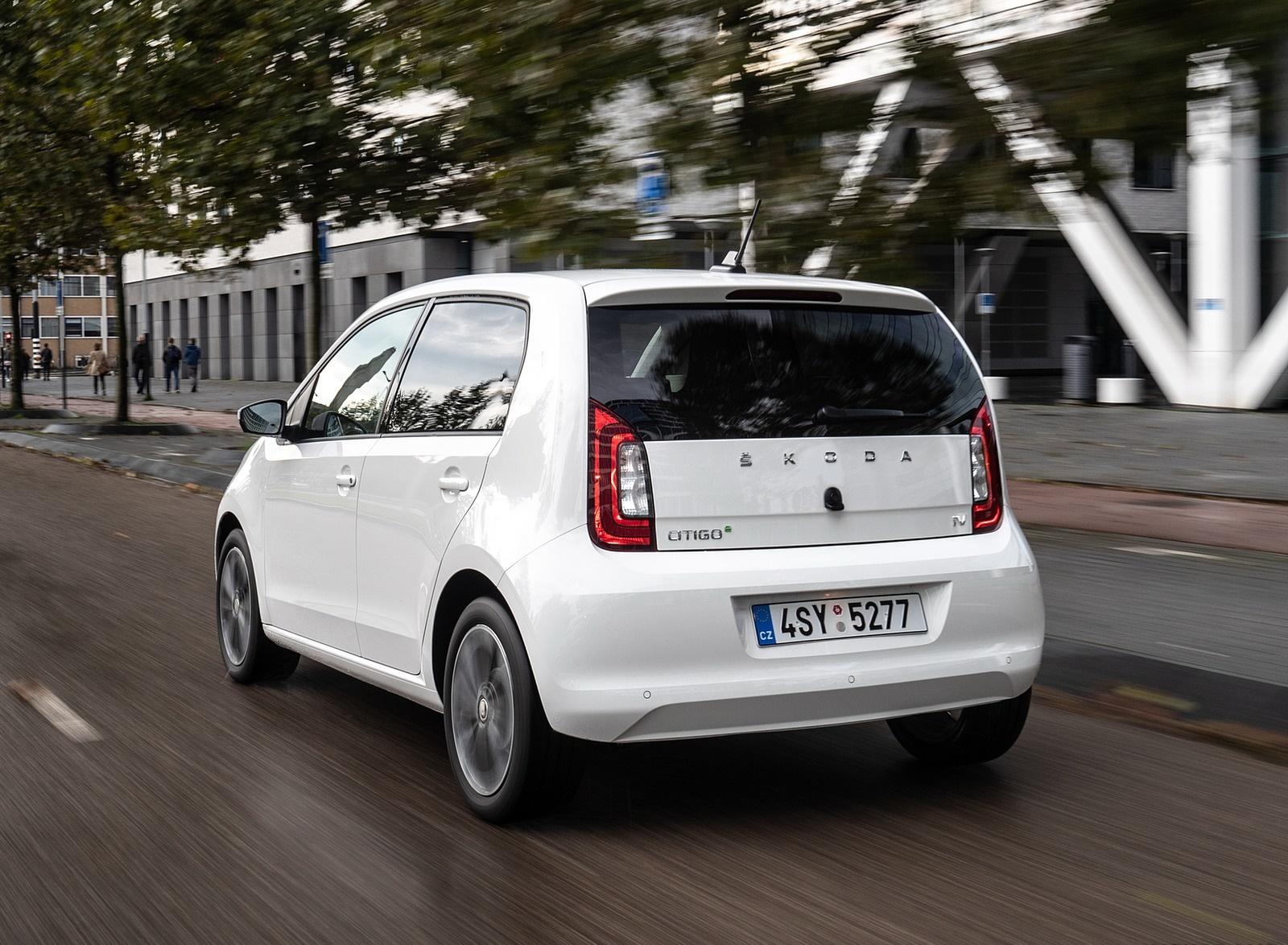 2020 Skoda Citigo iV Plug-In Hybrid Rear Three-Quarter Wallpapers (8)