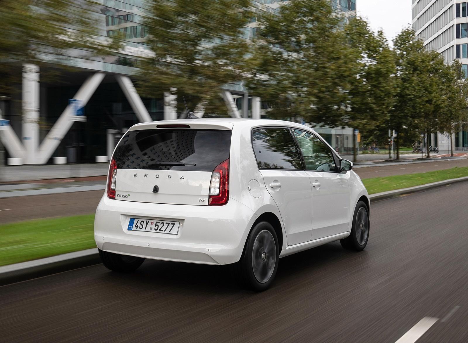 2020 Skoda Citigo iV Plug-In Hybrid Rear Three-Quarter Wallpapers (9)