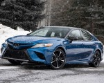 2020 Toyota Camry XSE AWD Front Three-Quarter Wallpapers 150x120 (21)