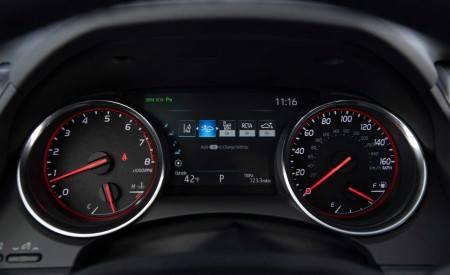 2020 Toyota Camry XSE AWD Instrument Cluster Wallpapers 450x275 (83)
